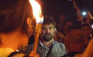 A tüntetést egy villanyszerelő kezdeményezte