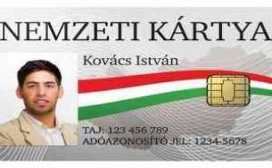 ilyen lesz a nemzeti kártya