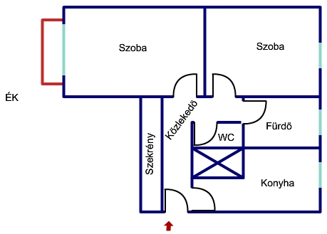 Kiadó kertvárosi lakás